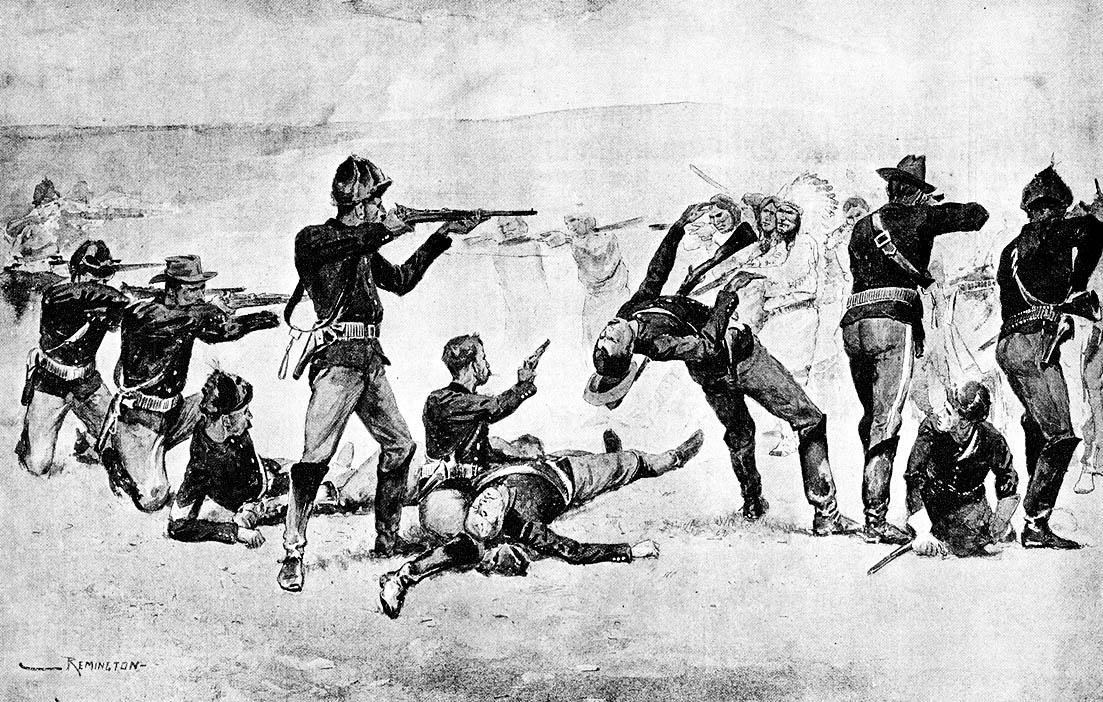 facts about the wounded knee massacre The battle of wounded knee, or wounded knee massacre, was the last conflict between native americans and us soldiers of the indian wars.