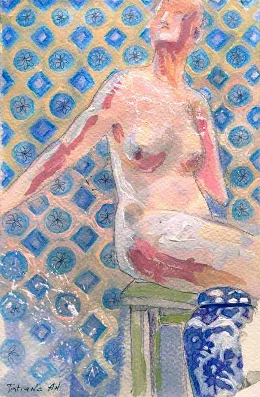 Tatiana An. Chinese vase