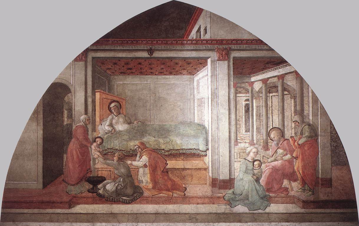 Fra Filippo Lippi. The Birth Of Christ