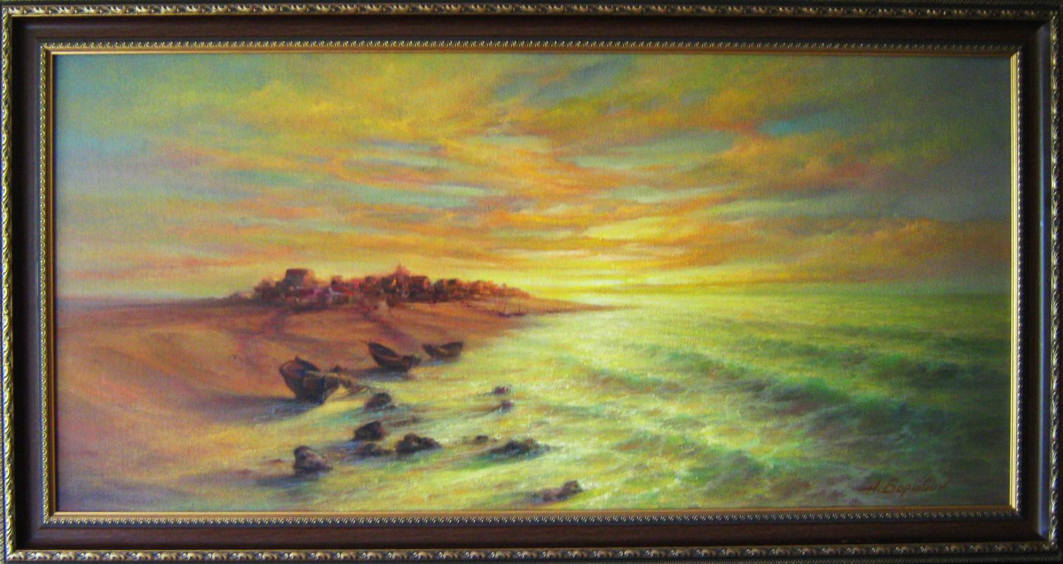 Andrei Ivanovich Boravik. Melody sunset