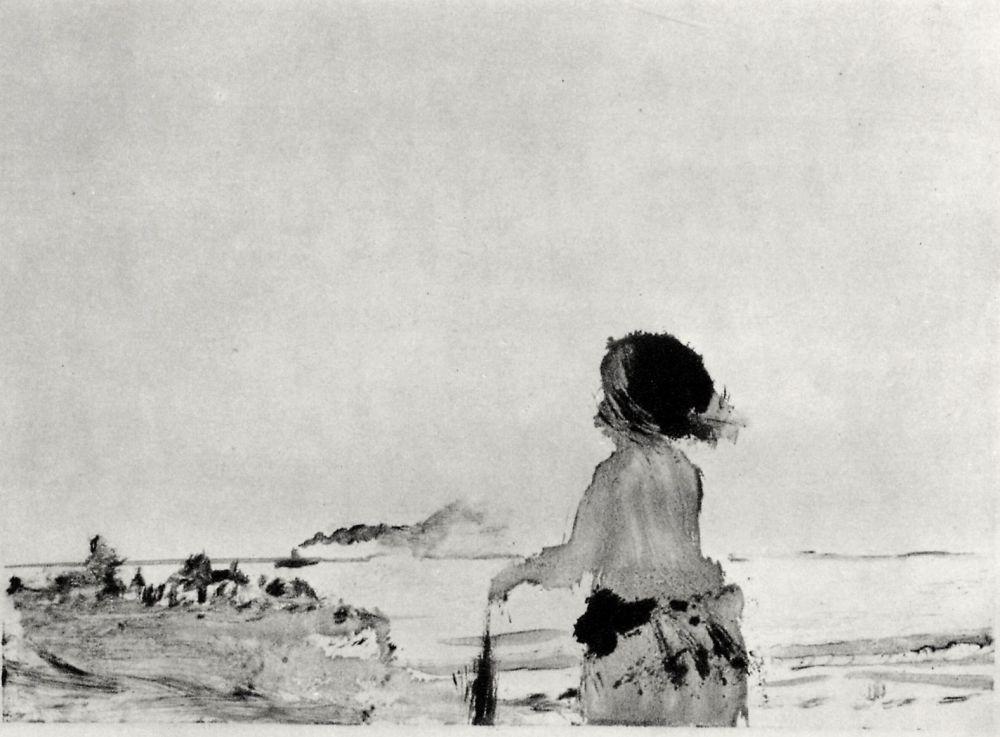 Edgar Degas. On the coast