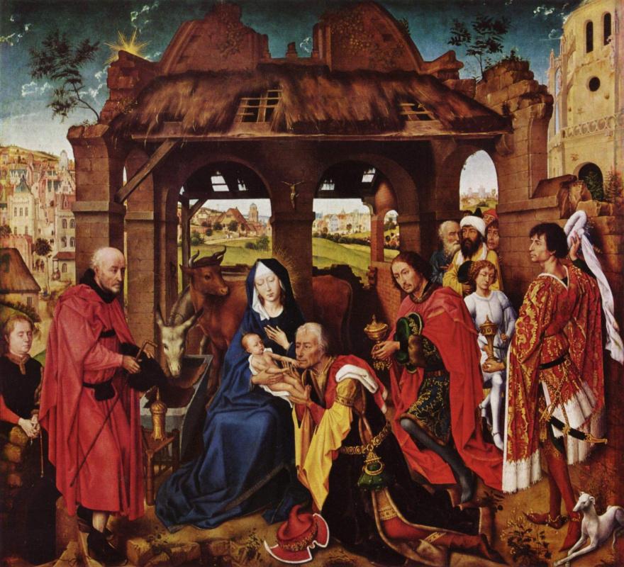 Рогир ван дер Вейден. Алтарь святого Коломба. Фрагмент