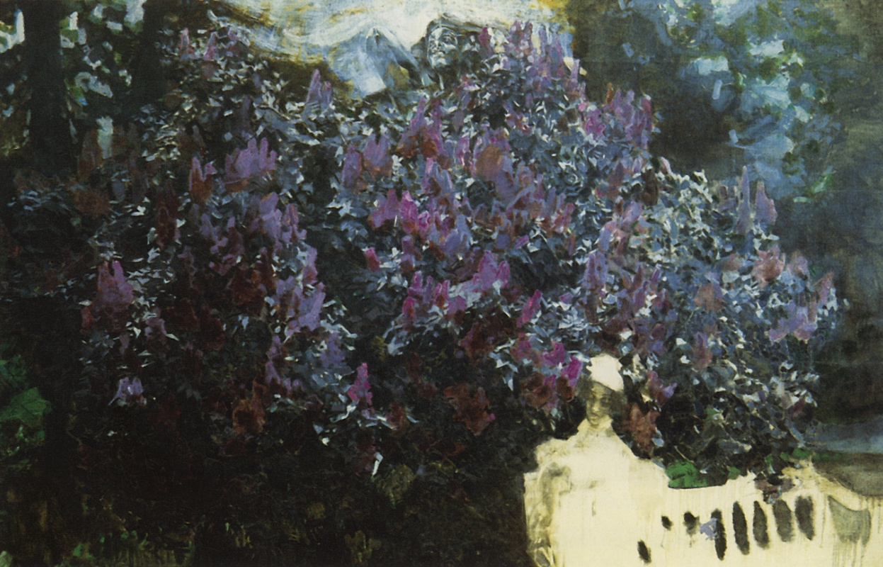 Mikhail Vrubel. Lilac. The picture