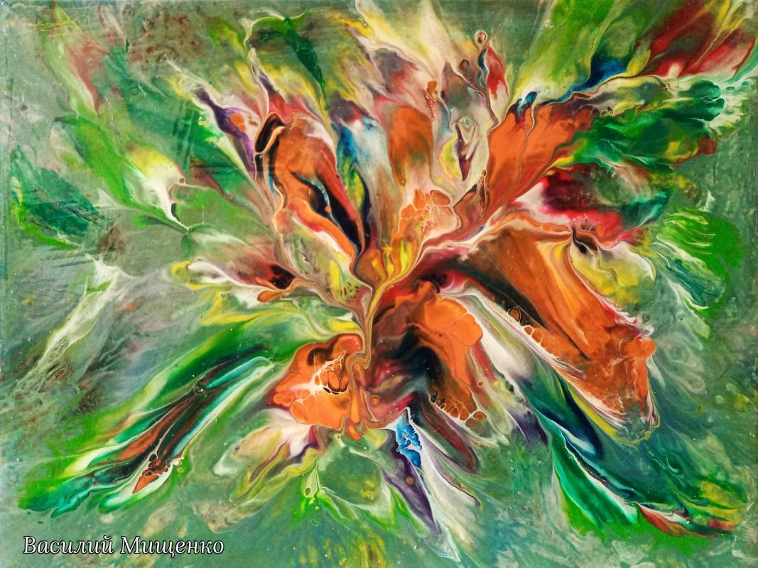 Vasiliy Mishchenko. Abstract 0233 Acrylic