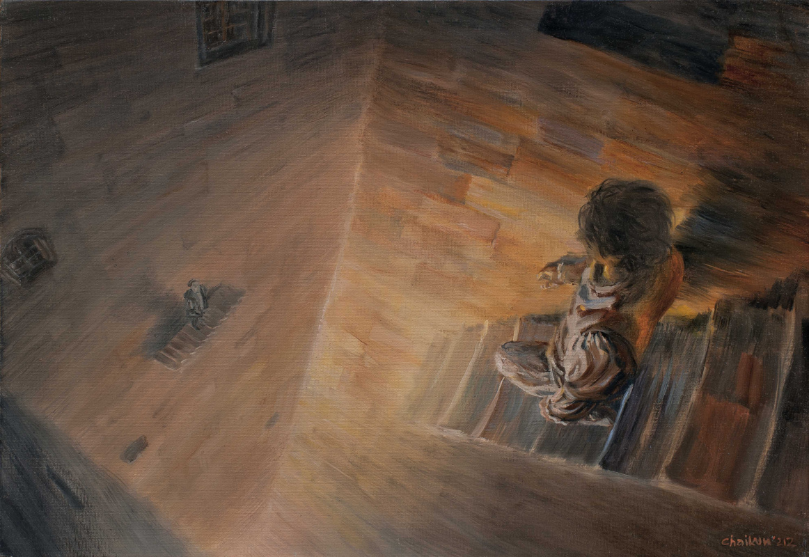 Sergey Chaikun. Illustration for the Shakespeare's Anniversary Edition Hamlet, VitaNova Publishing House, 2013