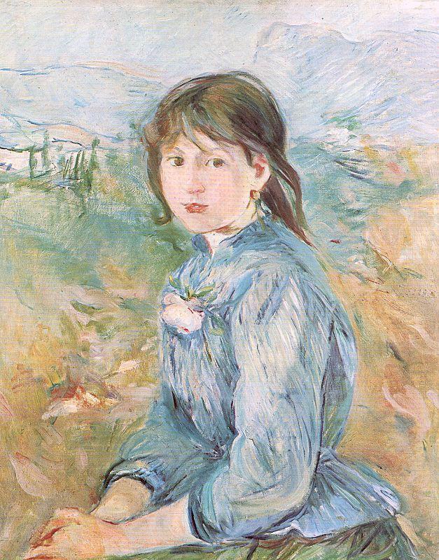 Berthe Morisot. The little girl from nice, Celestine