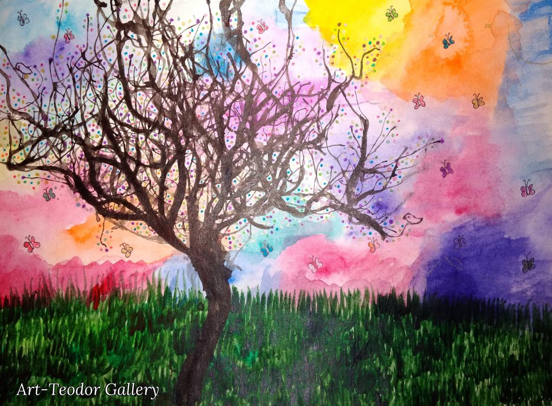 Art-Teodor Gallery. Одинокое дерево