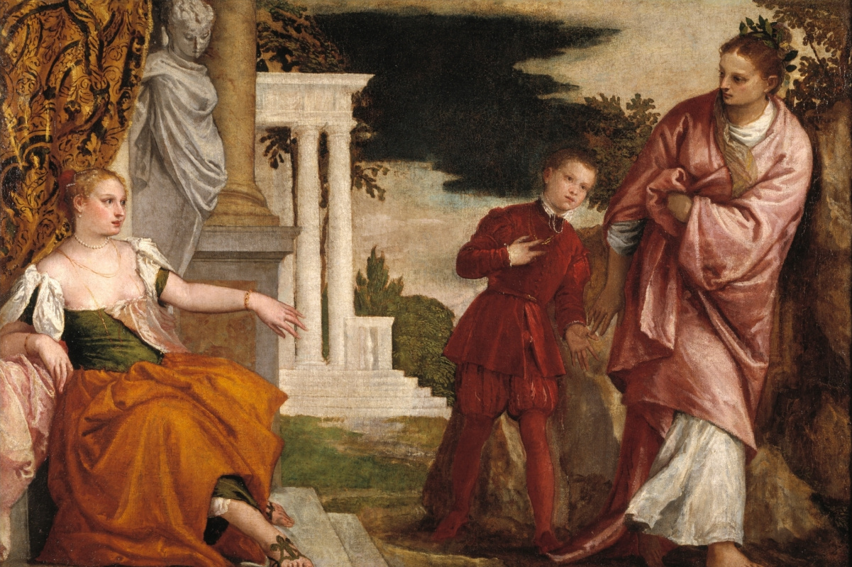 Paolo Veronese. Youth Between Vice and Virtue