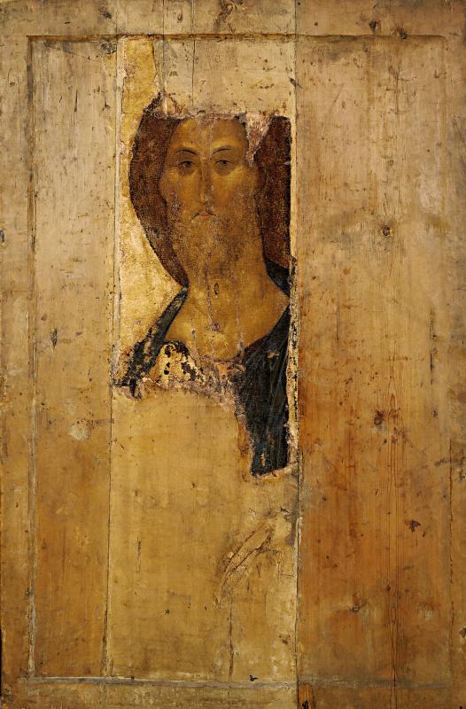 Андрей Рублев. Спас. Икона из Звенигородского деисусного чина