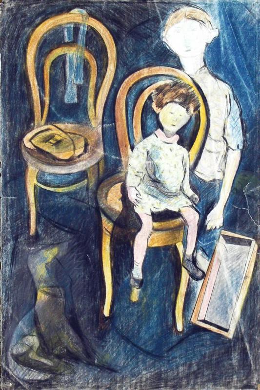 Lev Alexandrovich Yudin. Yellow chairs
