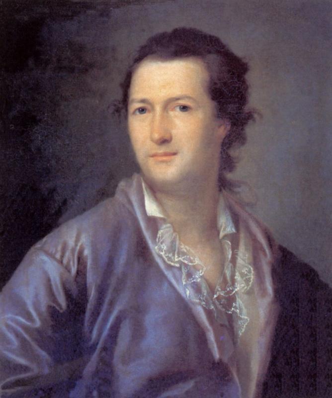 Ермолай Камеженков. Портрет неизвестного в лиловом халате