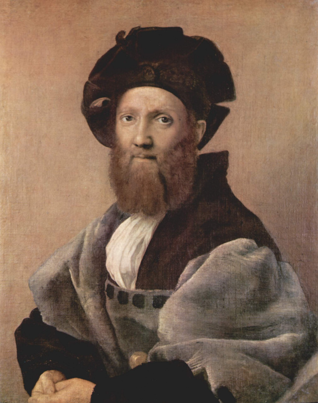 Портрет Бальдассаре Кастильоне