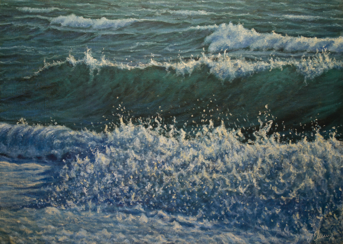 Valery Levchenko. No. 486 Seascape.