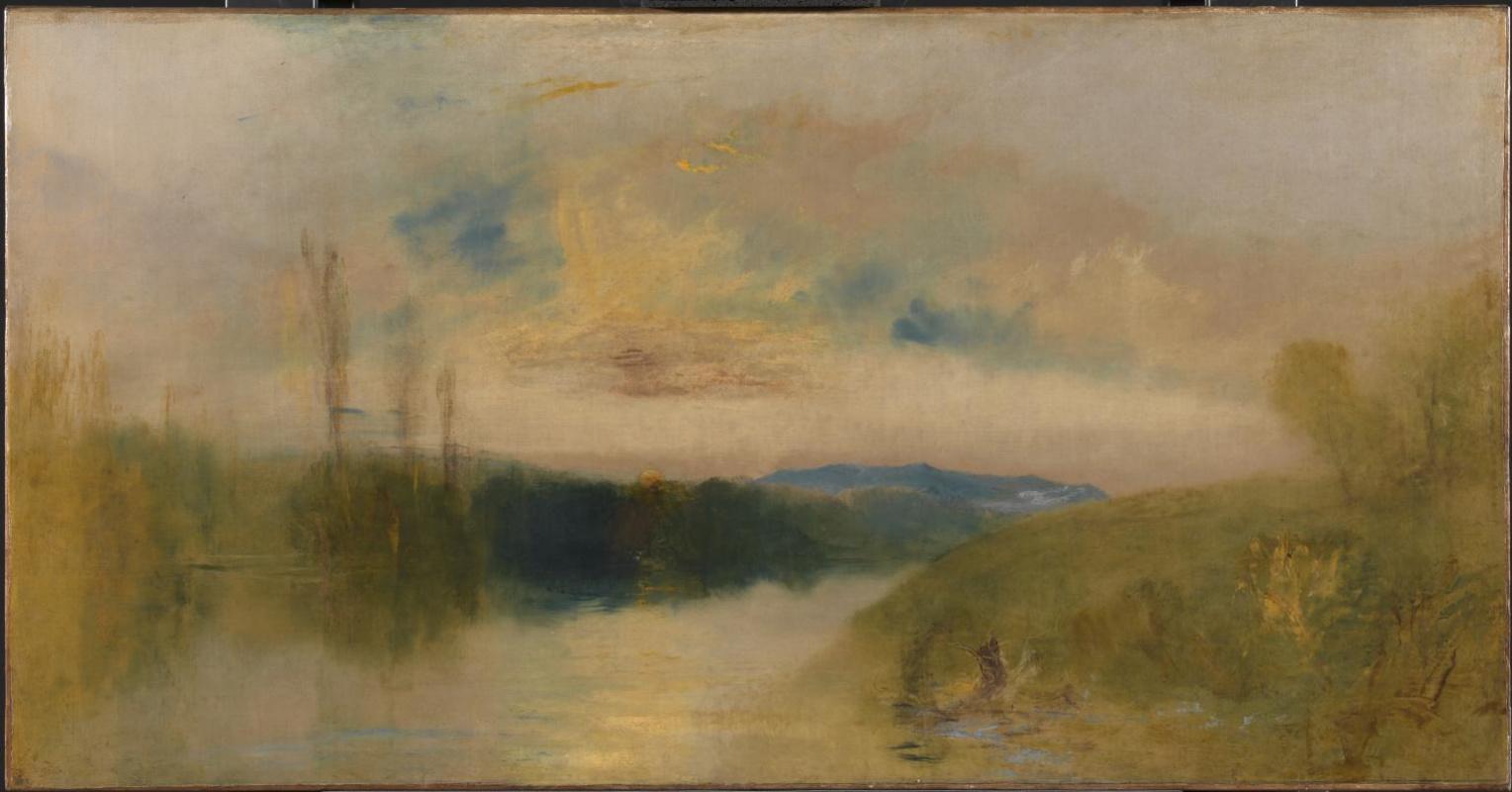 Joseph Mallord William Turner. The lake in Petworth