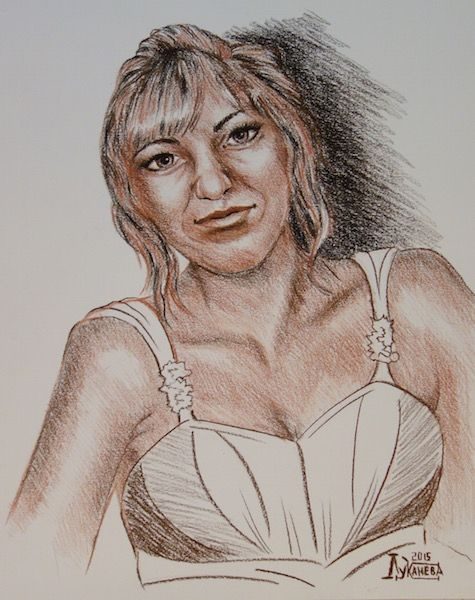 Larissa Lukaneva. Irina