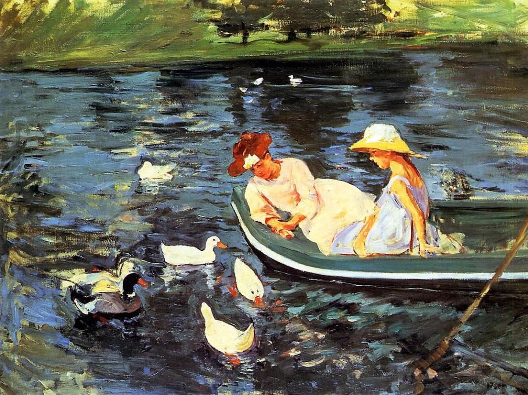 Mary Cassatt. Summer time