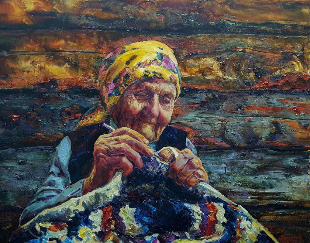 Lana Medvecka. Patchwork rug