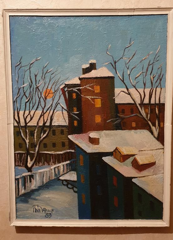 Robert Patwakanovich Gyulazyan. Winter landscape
