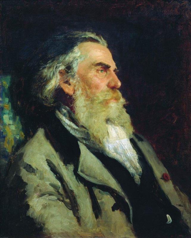 Ilya Efimovich Repin. Portrait Of A. P. Bogolyubov
