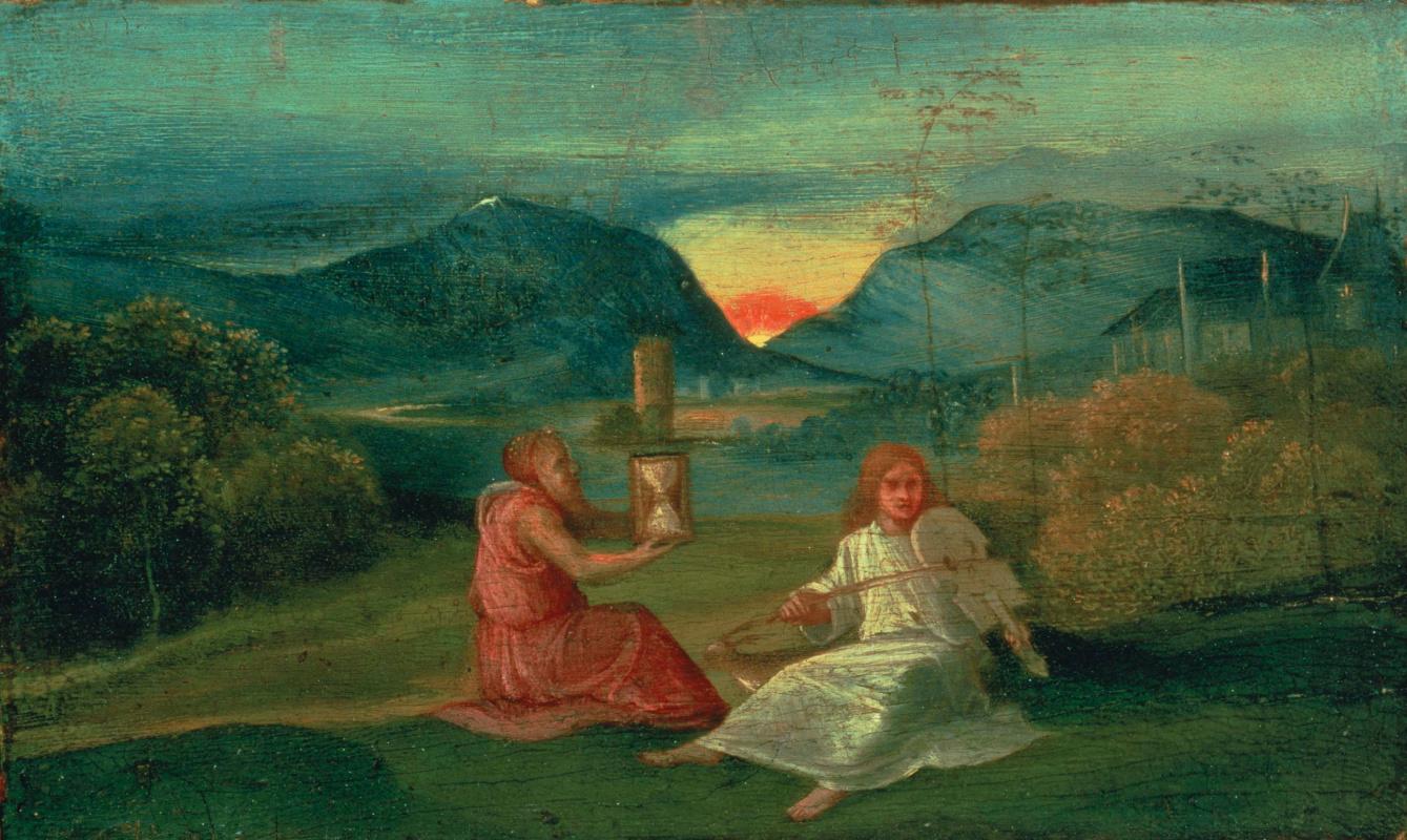 Giorgione. Hourglass