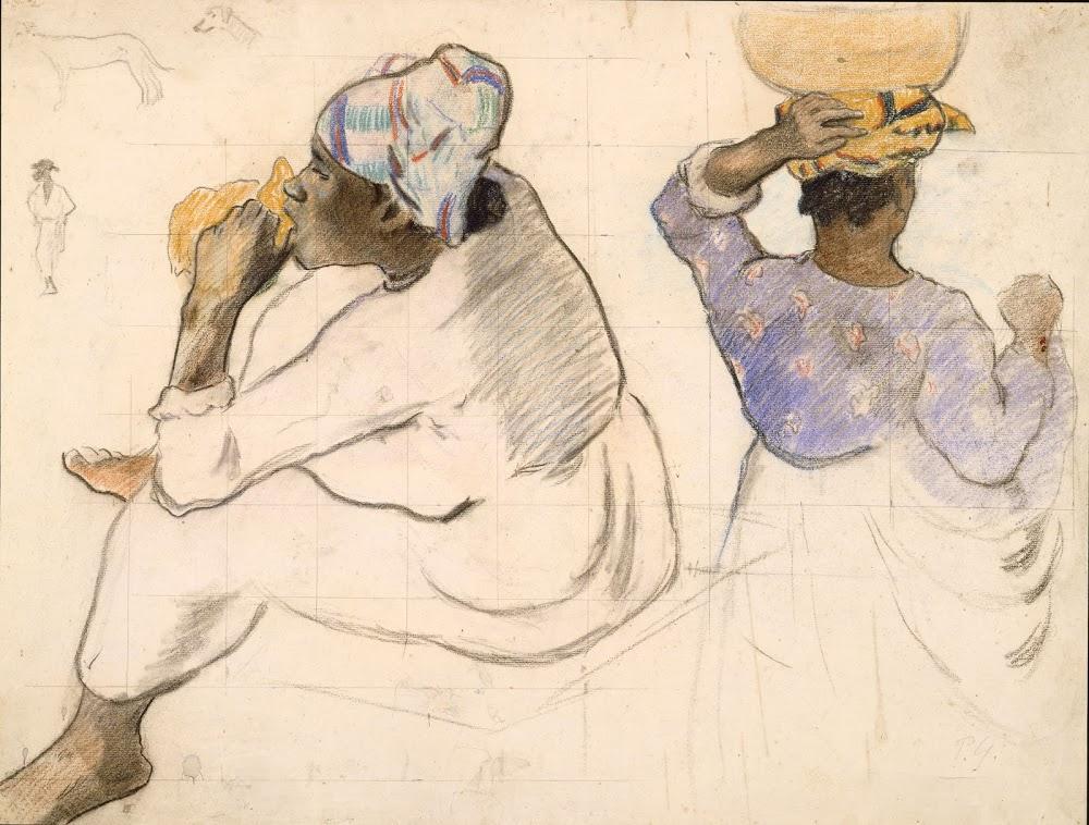 Paul Gauguin. Martinican Women