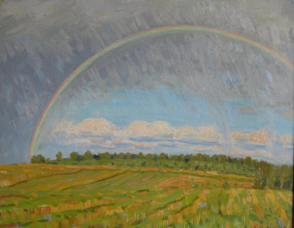 Eugene Alexandrovich Kazantsev. Mstera. Rainbow.