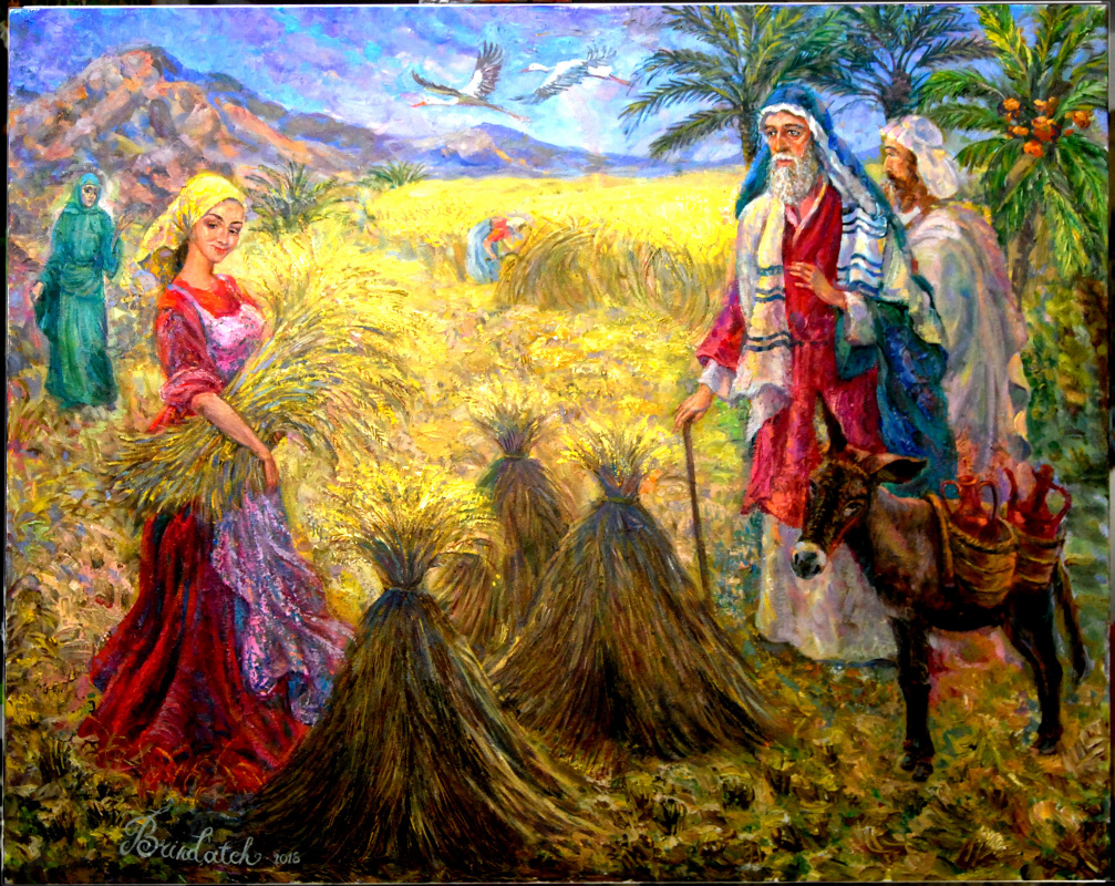 Victor Brindatch. Ruth is the progenitor of the kings of Israel.