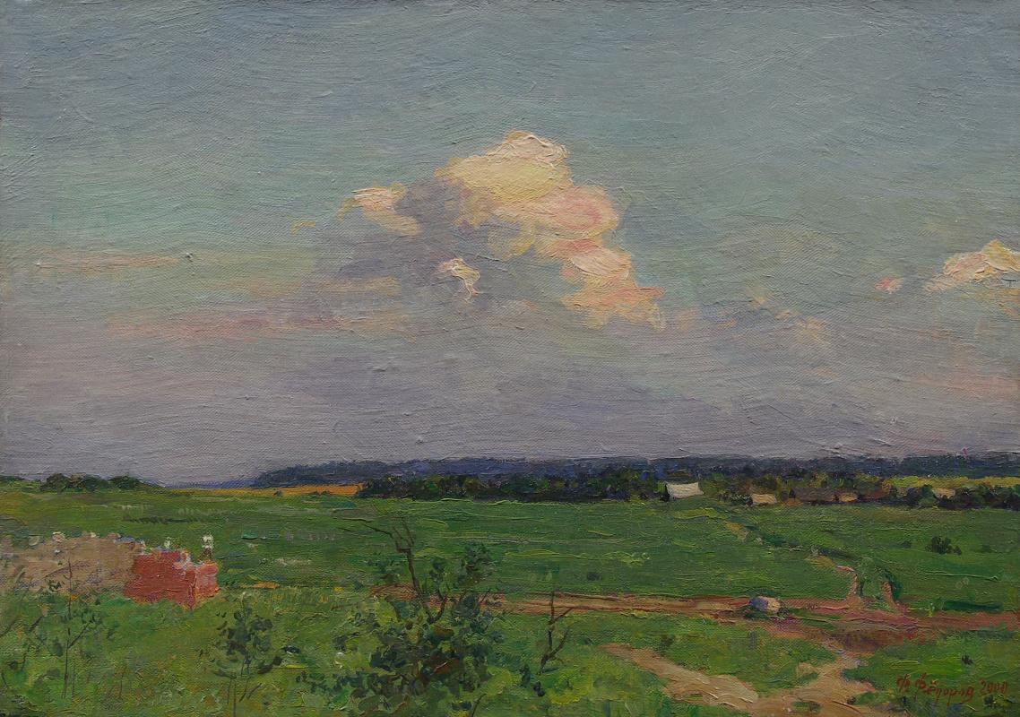 Фёдор Борисович Фёдоров. Cloud over the field