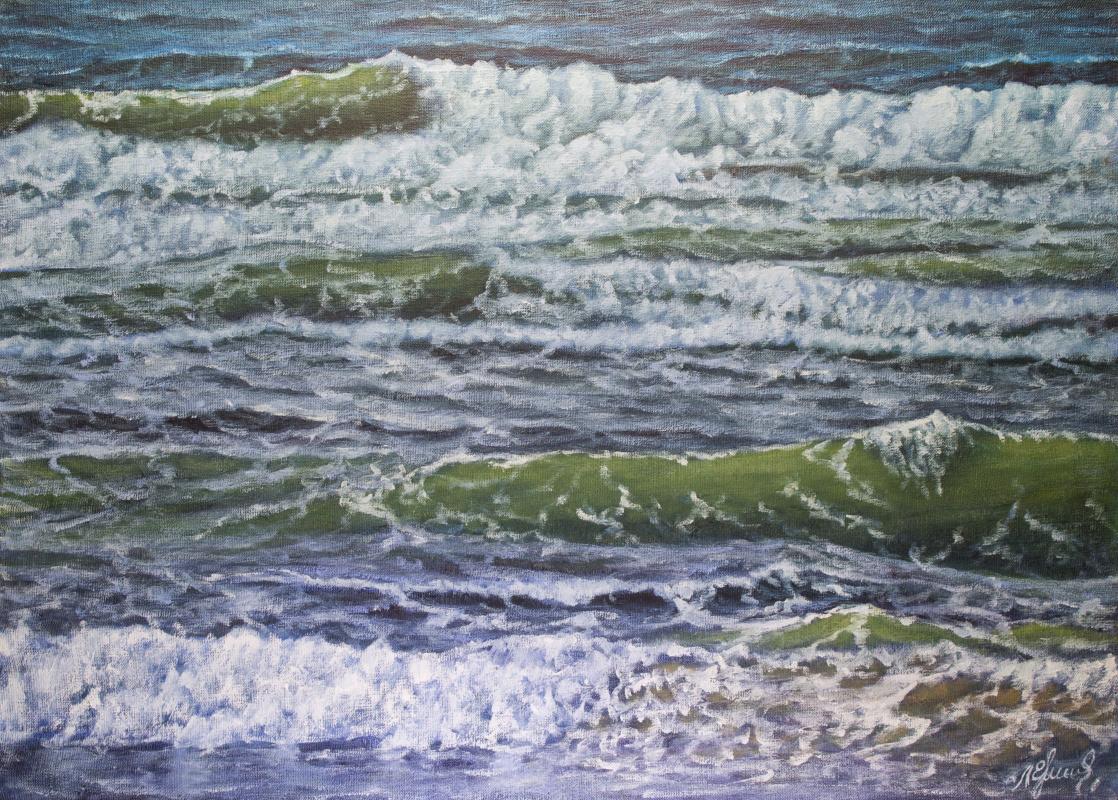 Valery Levchenko. № 577 Seascape.
