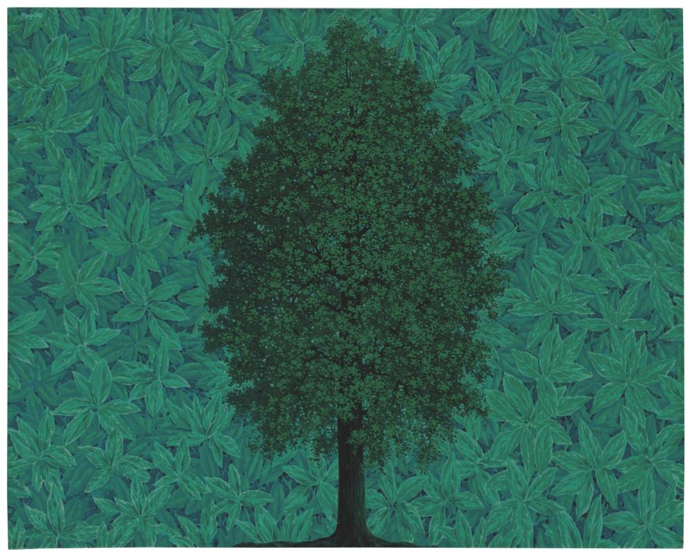 René Magritte. L'Arc de Triomphe