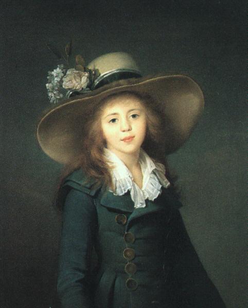 Воилл. Девушка в шляпе