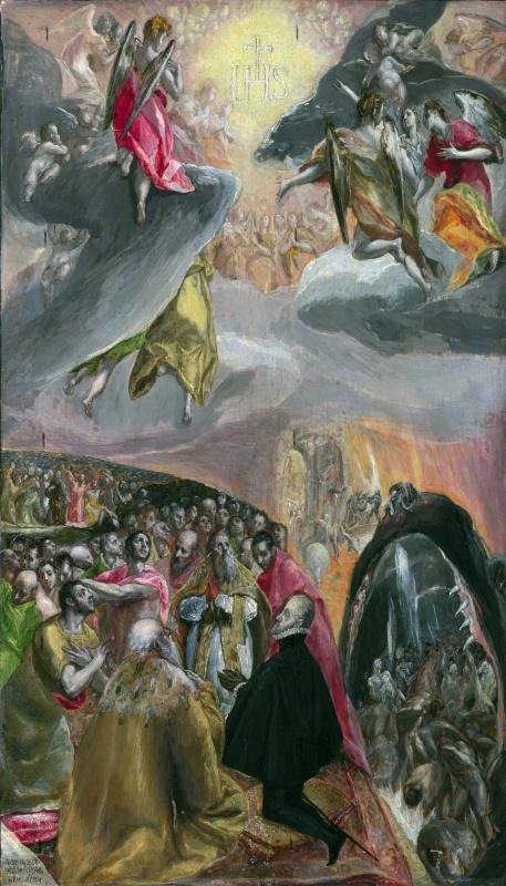 Эль Греко (Доменико Теотокопули). Поклонение имени Иисуса