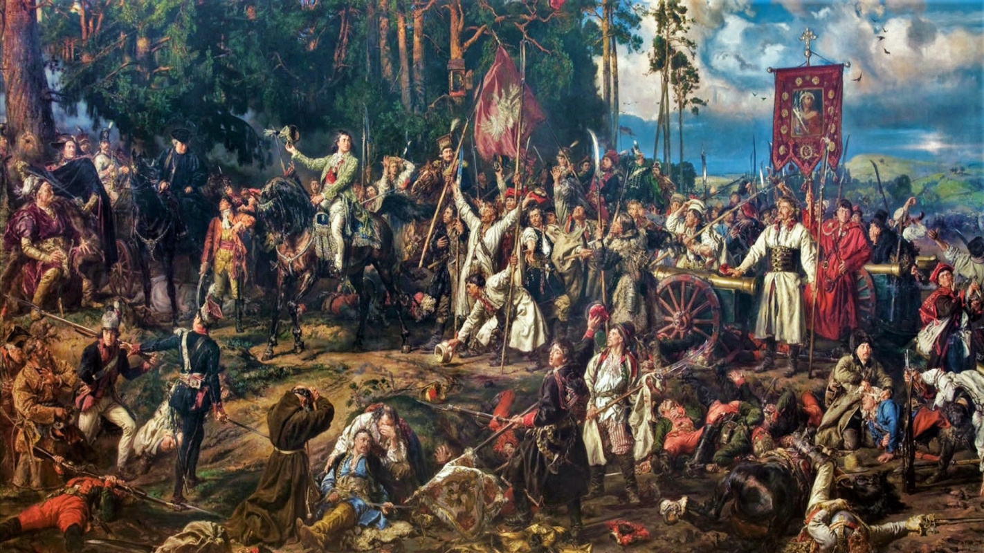 Jan Matejko. The Battle of Raklavice