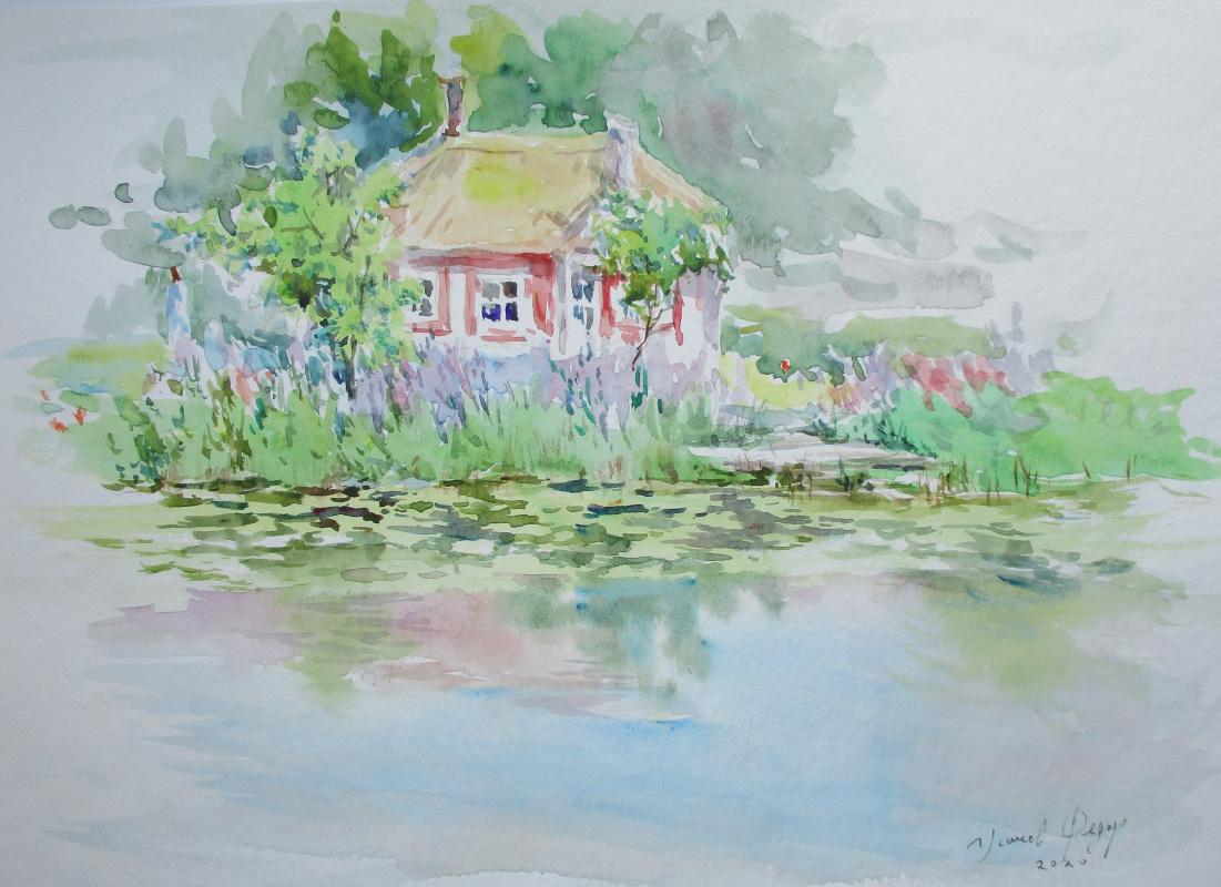 Fedor Dmitrievich Usachev. House Fairy Tale