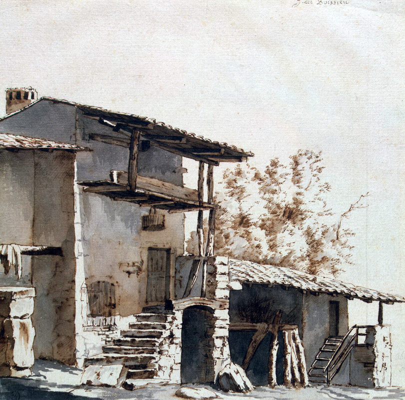 Жан-Жак де Буассье. Дом с навесом