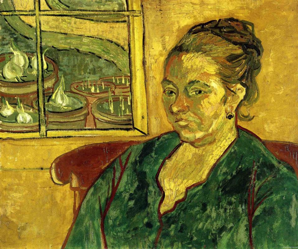 Винсент Ван Гог. Портрет мадам Августины Рулен