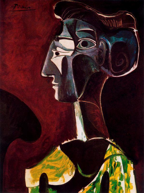 Пабло Пикассо. Большой профиль
