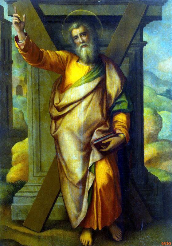 Miguel Barroso. The Apostle Andrew
