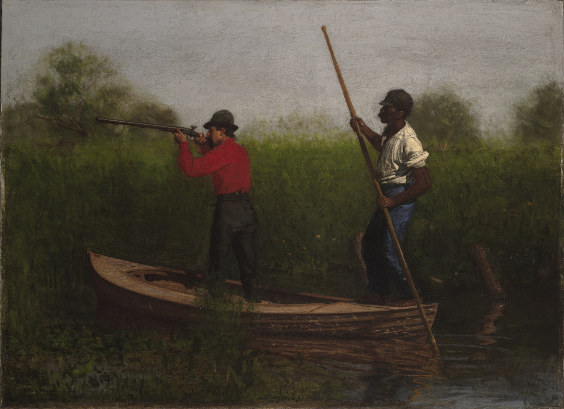 Thomas Eakins. Will Schuester and Black For hunting