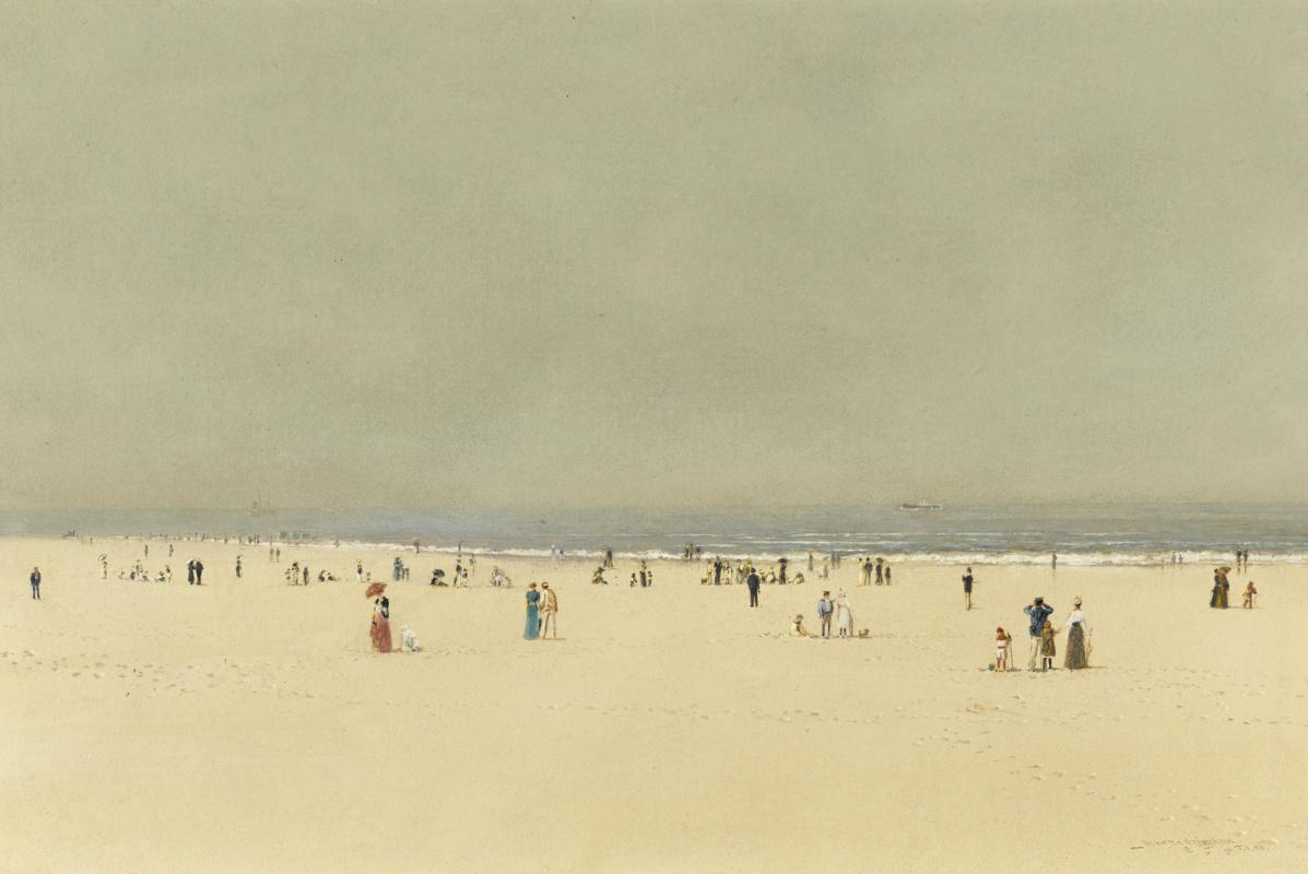 John Atkinson Grimshaw. Sky, sea and sand