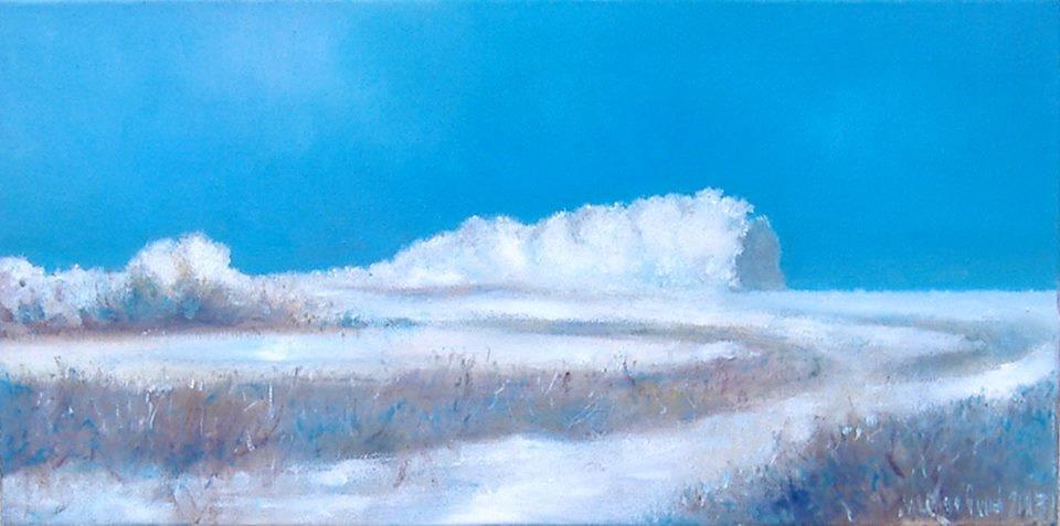 """Michael Yudovsky. """"January in the vicinity Mari""""."""