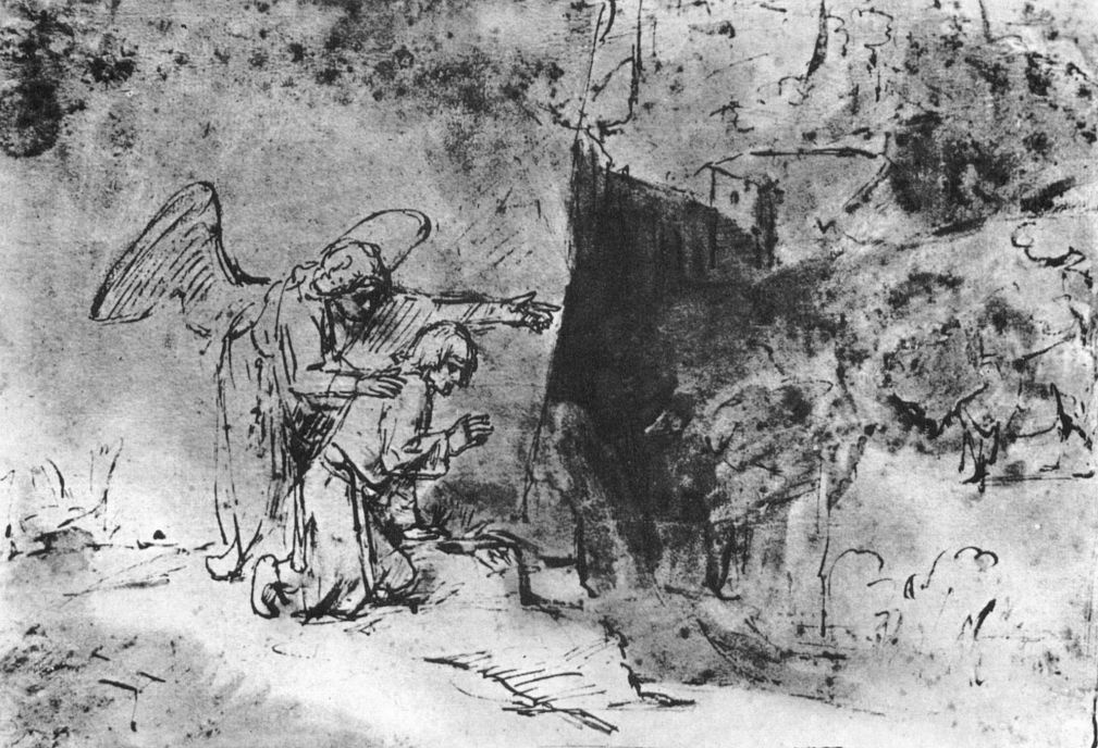 Рембрандт Харменс ван Рейн. Видение Даниила у потока Улай