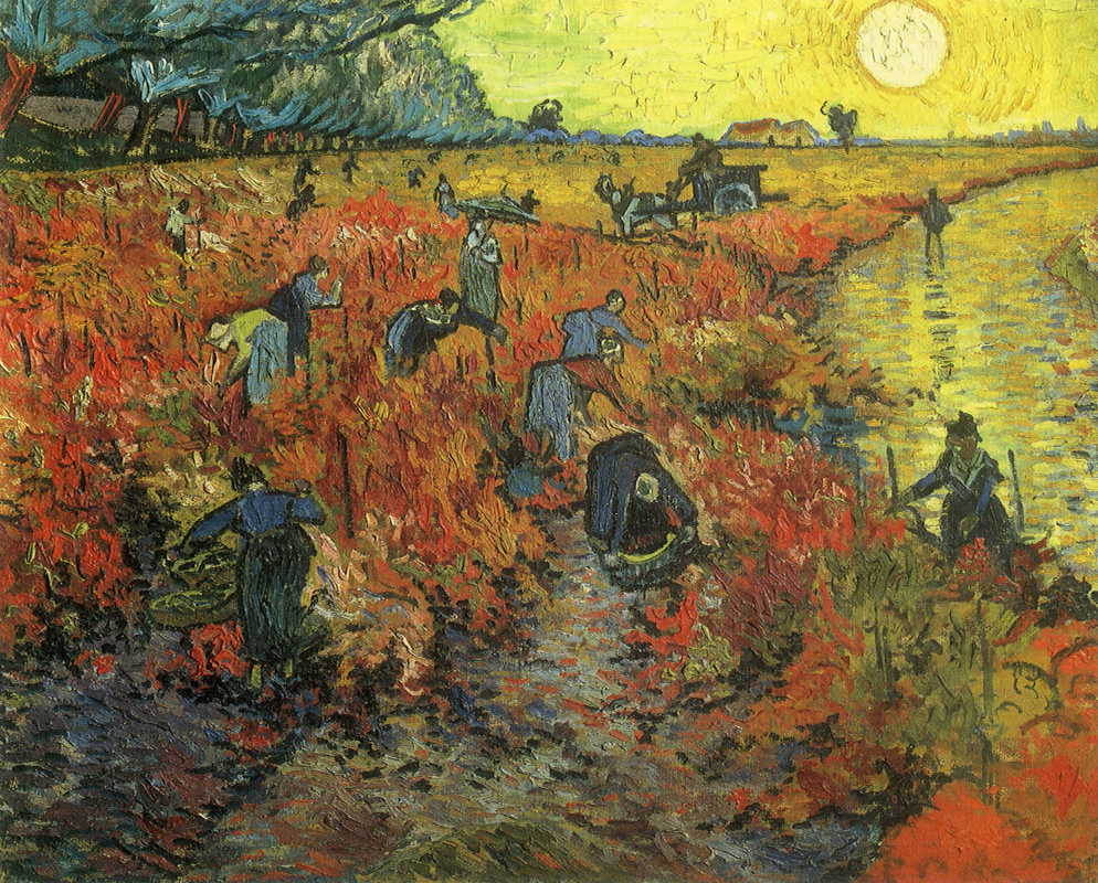 Vincent van Gogh. Red Vineyards at Arles