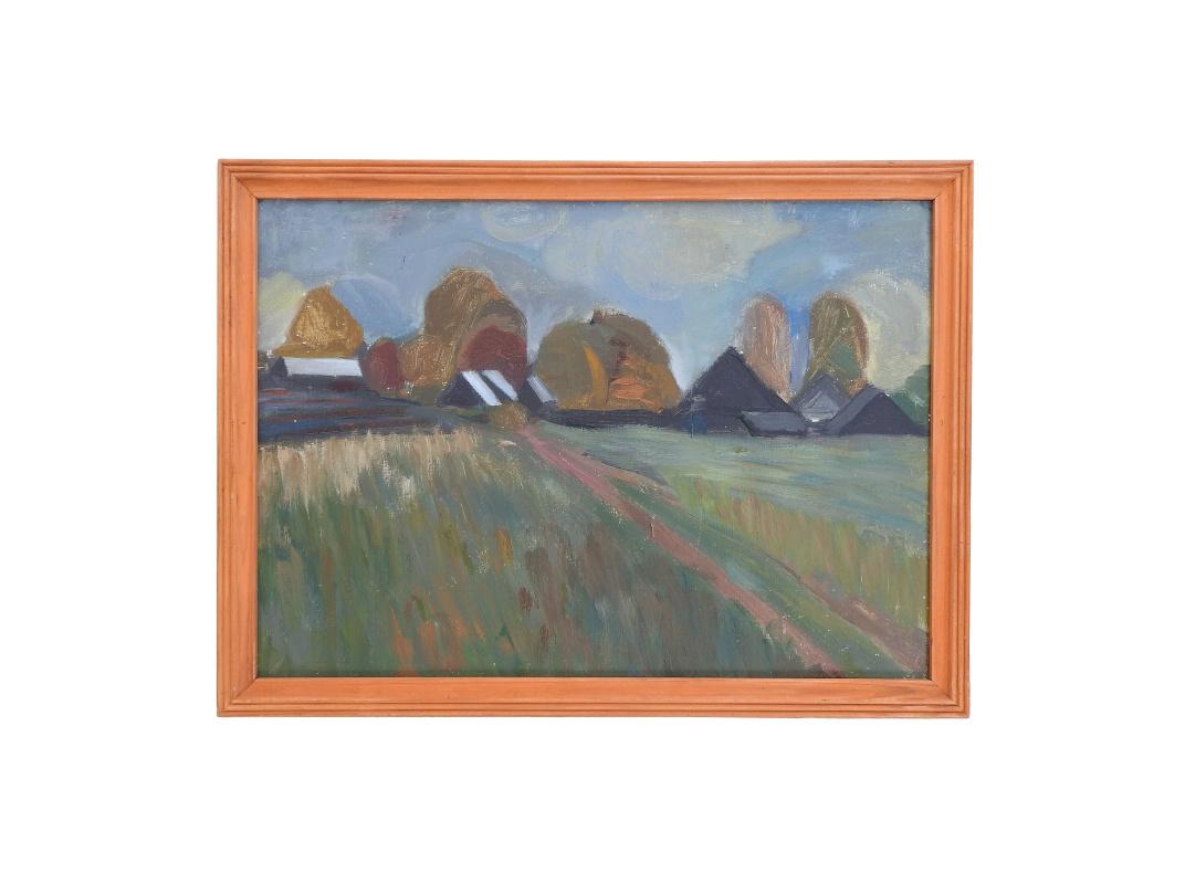 Galina Pavlovna Shuvaeva. Village (Ustyuzhna)