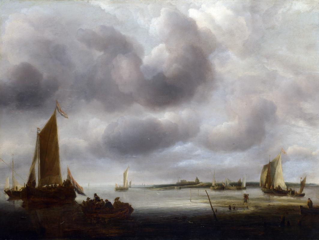 Ян ван де Каппель. Побережье