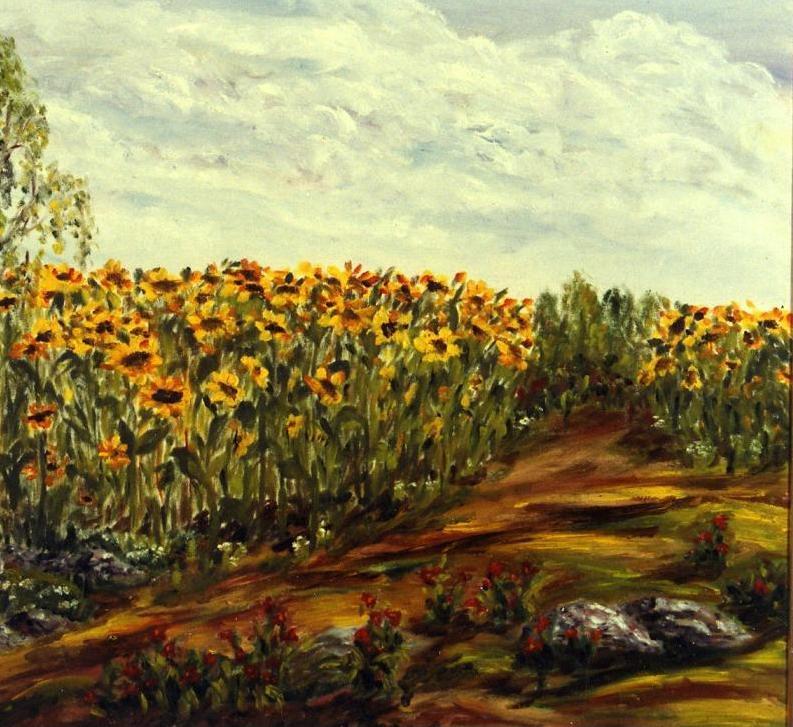 Рита Аркадьевна Бекман. Солнечное поле