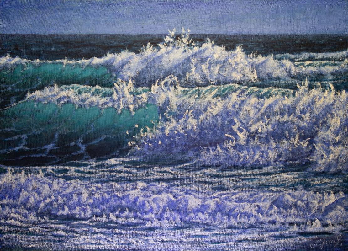 Valery Levchenko. № 622  Морской пейзаж.