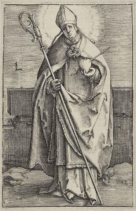 Лукас ван Лейден (Лука Лейденский). Святой Антоний