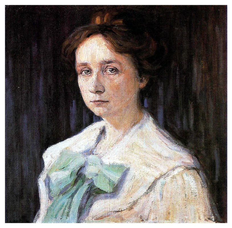 Wassily Kandinsky. Portrait of Gabriele Münter