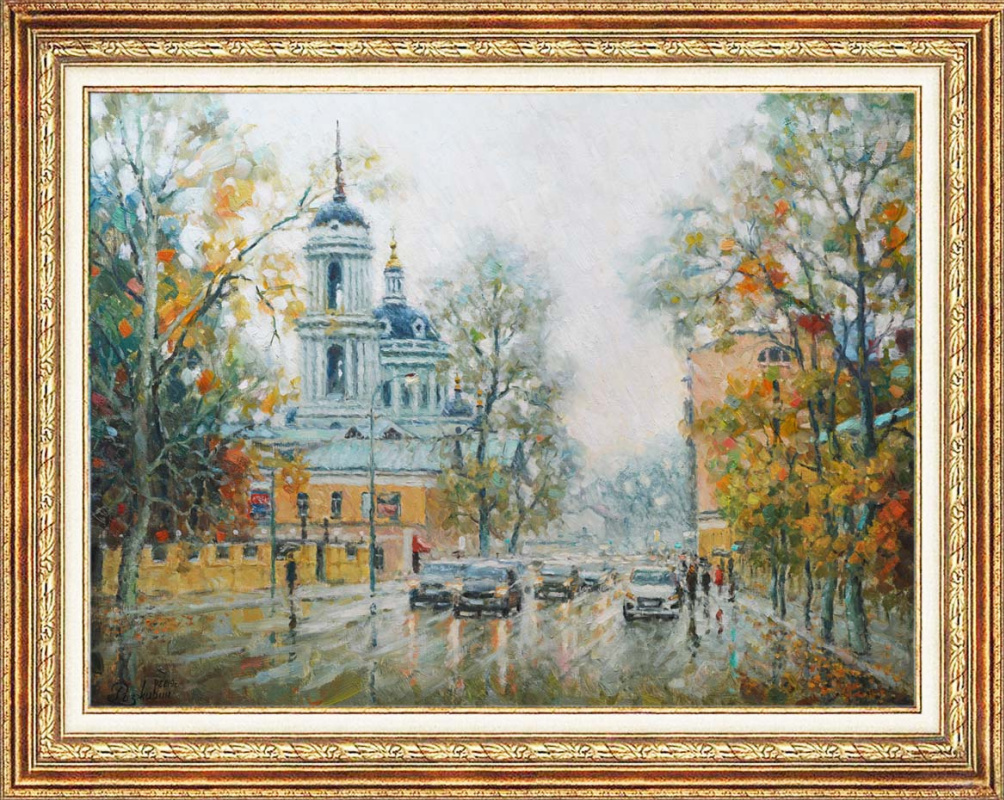 Igor Razzhivin. Through the veil of rain